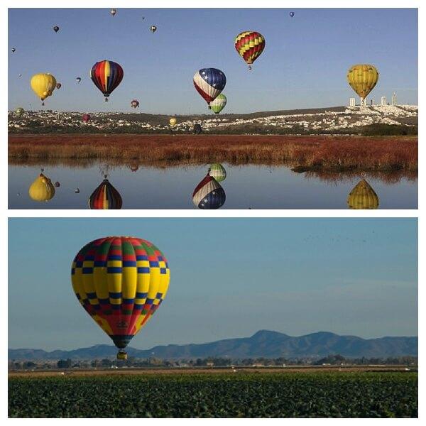 Air Balloon Trips over Yuma
